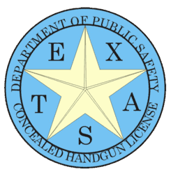 Texas DPS Concealed Handgun License
